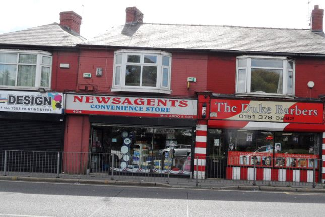 Thumbnail Retail premises for sale in Queens Drive, Liverpool