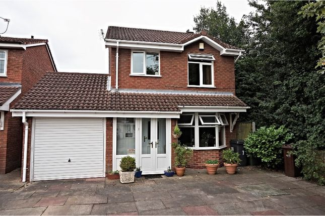 Thumbnail Detached house for sale in Titchfield Close, Wolverhampton