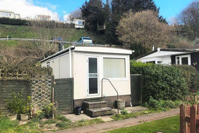 Thumbnail Mobile/park home for sale in Hillside Park, Totnes Road, Paignton