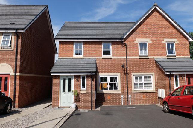 3 bed semi-detached house for sale in Tramside Way, Carlisle