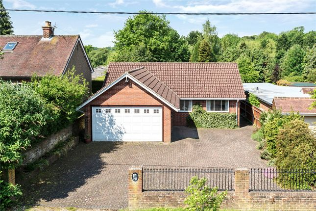 Thumbnail Detached bungalow for sale in Bousley Rise, Ottershaw, Surrey