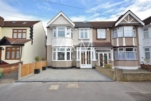 Thumbnail End terrace house for sale in Widecombe Gardens, Ilford