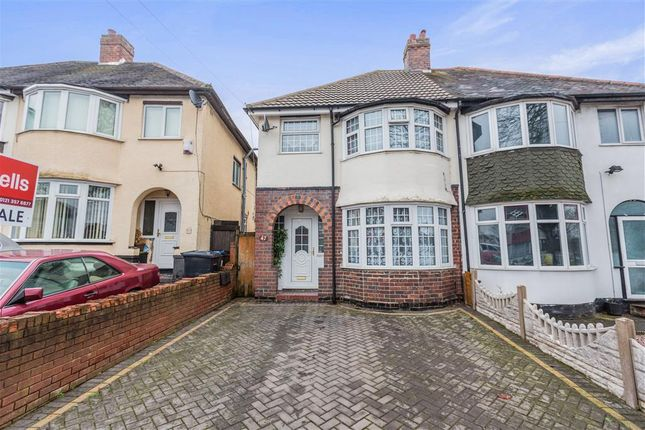 Thumbnail Semi-detached house to rent in Derrydown Road, Perry Barr, Birmingham