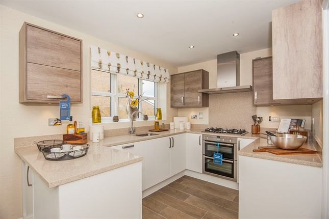 Thumbnail Town house for sale in William Nadin Way, Swadlincote