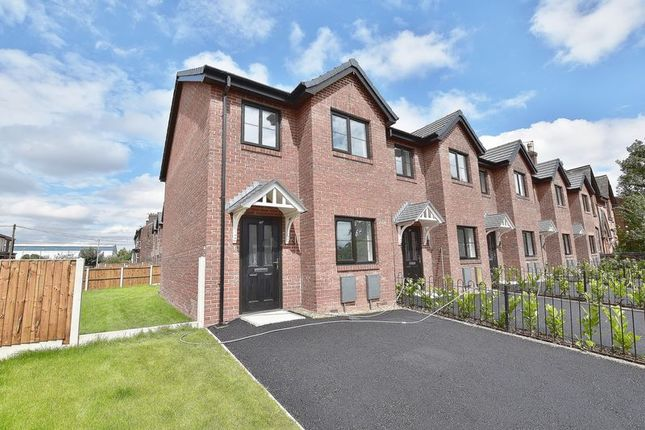 Thumbnail Town house for sale in Cromwell Road, Eccles, Manchester