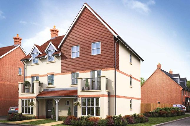 """Thumbnail Semi-detached house for sale in """"The Drayton - Plot 77"""" at Partridge Close, Didcot"""