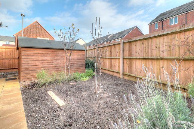 Side Garden of Emerald Way, Bridgwater TA6