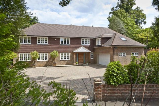 Thumbnail Detached house for sale in Cobbetts Hill, Weybridge, Surrey