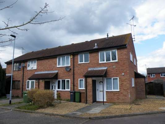 Thumbnail End terrace house to rent in Wainwright, Werrington, Peterborough