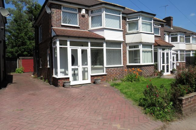 Thumbnail Semi-detached house to rent in Bromford Road, Hodge Hill, Birmingham