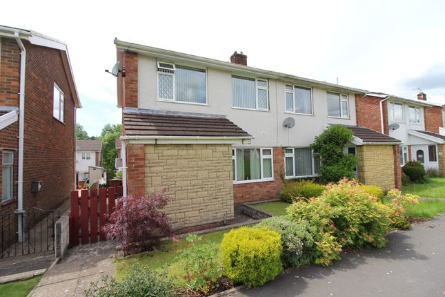 Thumbnail Semi-detached house for sale in Sycamore Court, Woodfieldside, Blackwood