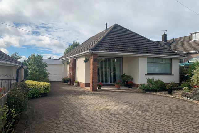 Thumbnail Detached bungalow for sale in High Cross Lane, Rogerstone, Newport