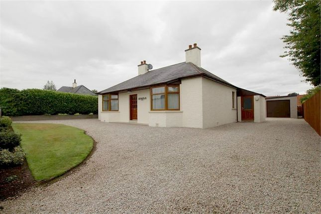 Thumbnail Semi-detached bungalow for sale in School Road, Fyvie, Turriff, Aberdeenshire