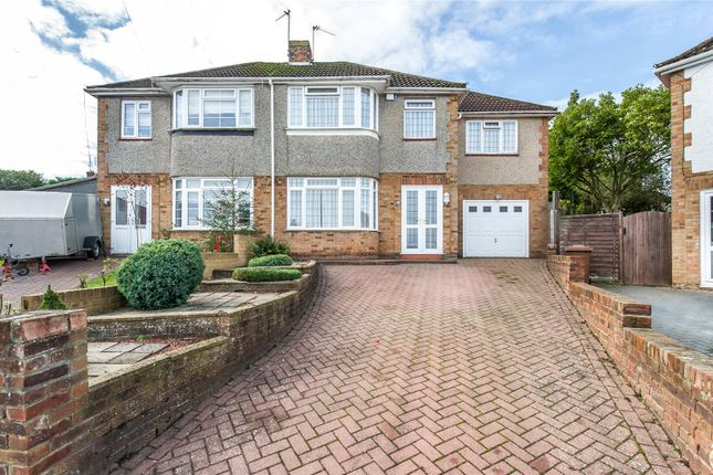 Thumbnail Semi-detached house for sale in Bramley Rise, Strood, Kent