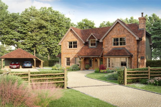 Thumbnail Detached house for sale in The Paddocks, Waltham St. Lawrence, Reading