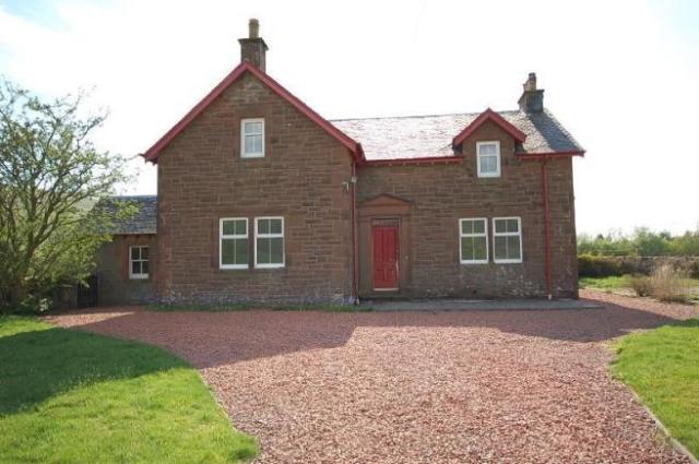 Thumbnail Farmhouse to rent in Glengeith Farm, Elvanfoot Biggar
