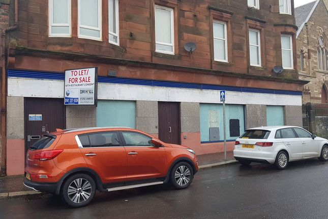 Thumbnail Retail premises for sale in Chapelwell Street, Saltcoats