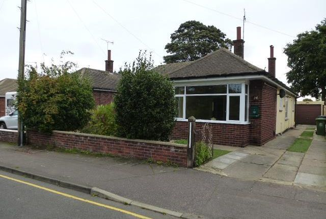 Thumbnail Bungalow to rent in Spencer Avenue, Gorleston, Great Yarmouth