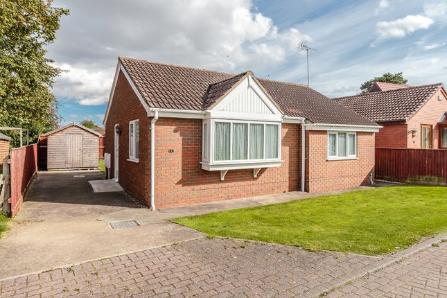 Thumbnail Detached bungalow for sale in Advent Court, Ulceby