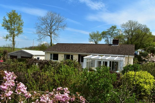 Thumbnail Detached bungalow for sale in Morchard Bishop, Crediton
