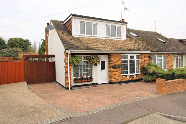 Thumbnail Semi-detached house for sale in Leslie Drive, Eastwood, Leigh-On-Sea