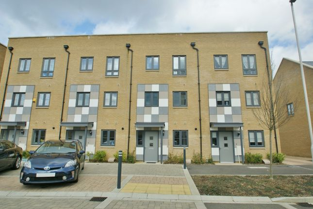 Thumbnail Town house to rent in Samuel Peto Way, Ashford