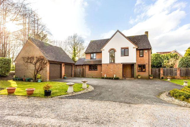 Thumbnail Detached house for sale in The Rookery, Highclere, Newbury, Hampshire