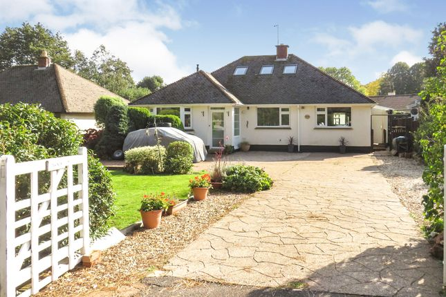 Thumbnail Detached bungalow for sale in Porlock Road, Woodcombe, Minehead