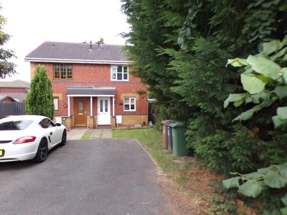 Frontage of Kenilworth Crescent, Walsall, West Midlands WS2