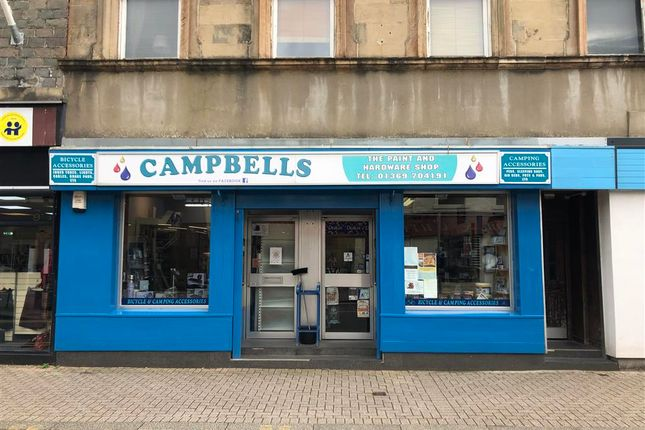 Thumbnail Retail premises for sale in Dunoon, Highland