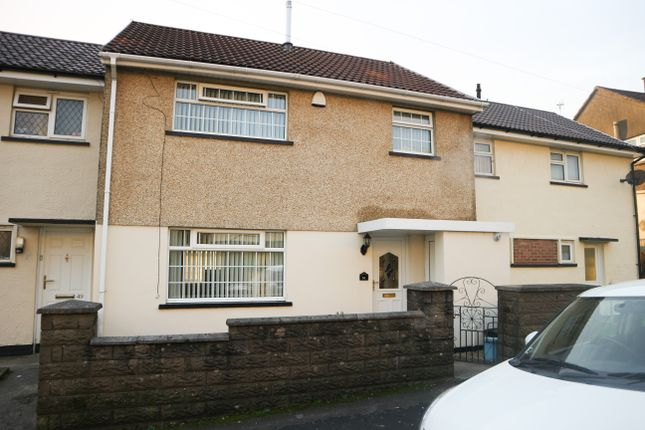Thumbnail Terraced house for sale in Ash Crescent, Gurnos, Merthyr Tydfil