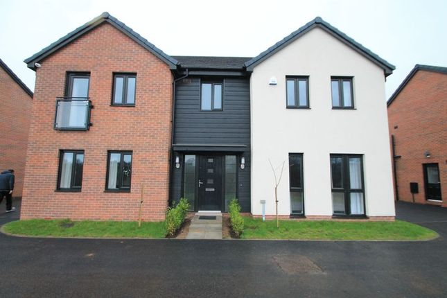 Thumbnail Detached house to rent in Rhodfa Lewis, Old St. Mellons, Cardiff