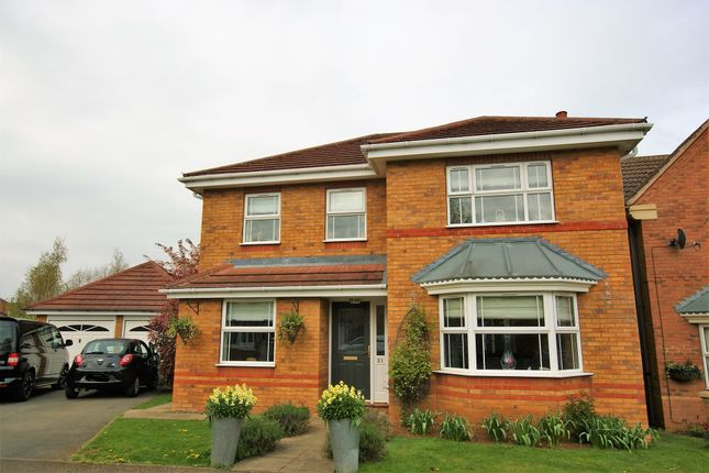 Thumbnail Detached house for sale in Hambleton Close, Oakham