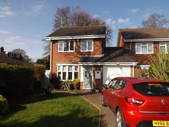 Thumbnail Link-detached house for sale in Glascote Close, Shirley, Solihull, West Midlands