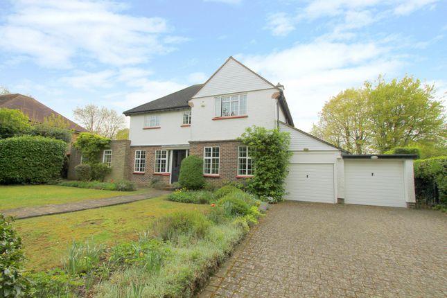 Thumbnail Detached house for sale in Woodcote Avenue, Wallington