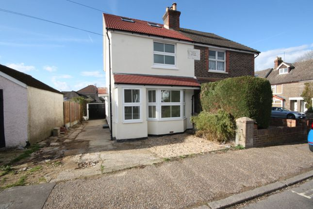 Thumbnail Semi-detached house to rent in Purton Road, Horsham, West Sussex