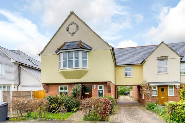 Thumbnail Detached house for sale in Back Road, Writtle, Chelmsford