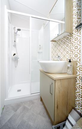 Shower Room of Ty Gwyn Park, Abergele, Towyn, Abergele LL22
