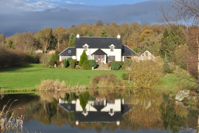 Thumbnail Detached house for sale in Longlands, Gartmore, Stirlingshire