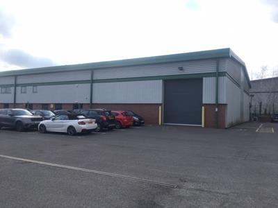 Thumbnail Warehouse to let in Unit 1C, Harrison Court, Hilton Business Park, Hilton, Derbyshire