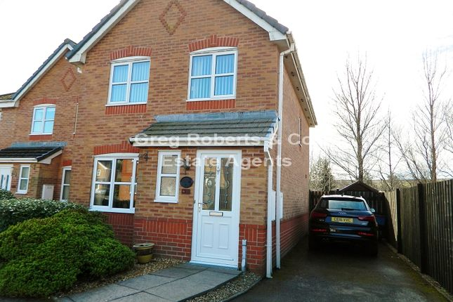 Thumbnail Detached house for sale in Harford Gardens, Sirhowy, Tredegar, Blaenau Gwent.
