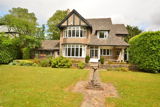 Thumbnail Detached house for sale in Sandmoor Drive, Alwoodley, Leeds, West Yorkshire
