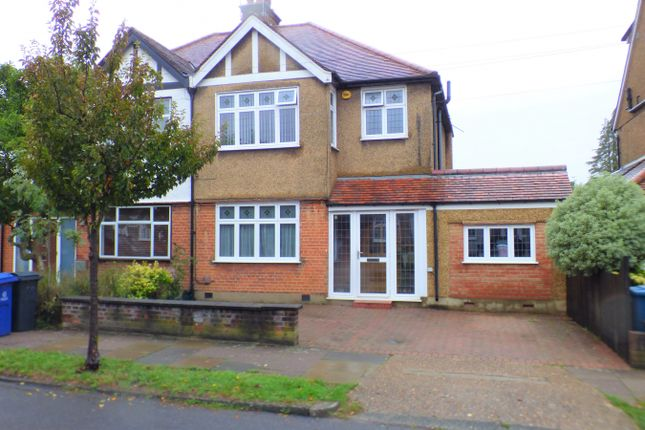 Thumbnail Semi-detached house for sale in Woodberry Avenue, North Harrow, Harrow