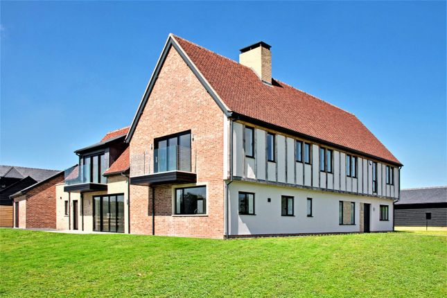 Thumbnail Detached house for sale in Bushett Rise, Oxen End, Great Bardfield, Essex