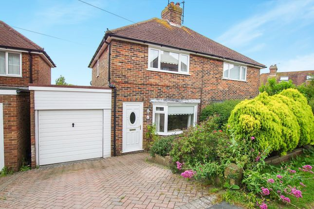 2 bed semi-detached house for sale in Hamsey Crescent, Lewes