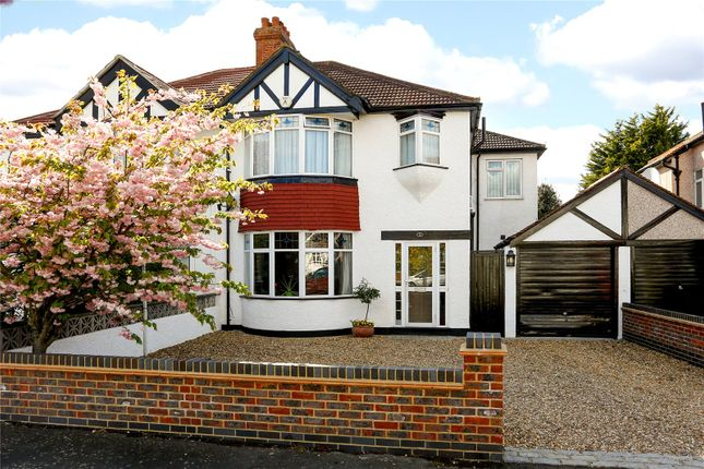 Thumbnail Semi-detached house for sale in Lyndhurst Avenue, Surbiton