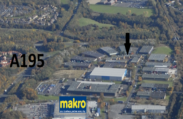 Thumbnail Industrial to let in Wear Industrial Estate, Washington