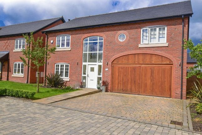 Thumbnail Detached house for sale in Meadowside, Smallwood, Sandbach