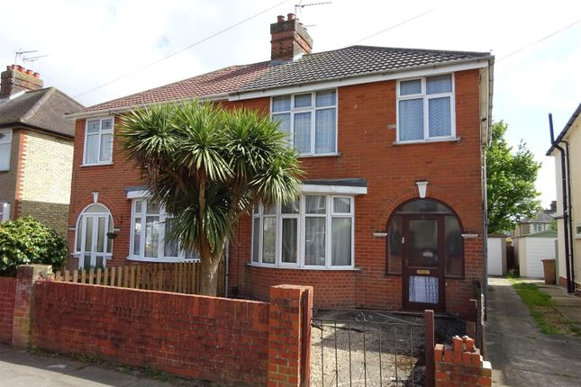 Thumbnail Semi-detached house for sale in Beverley Road, Ipswich