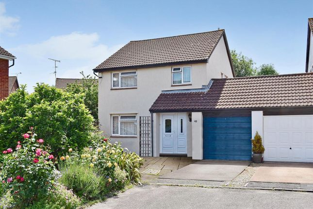 Thumbnail Link-detached house for sale in Scott Close, Taunton